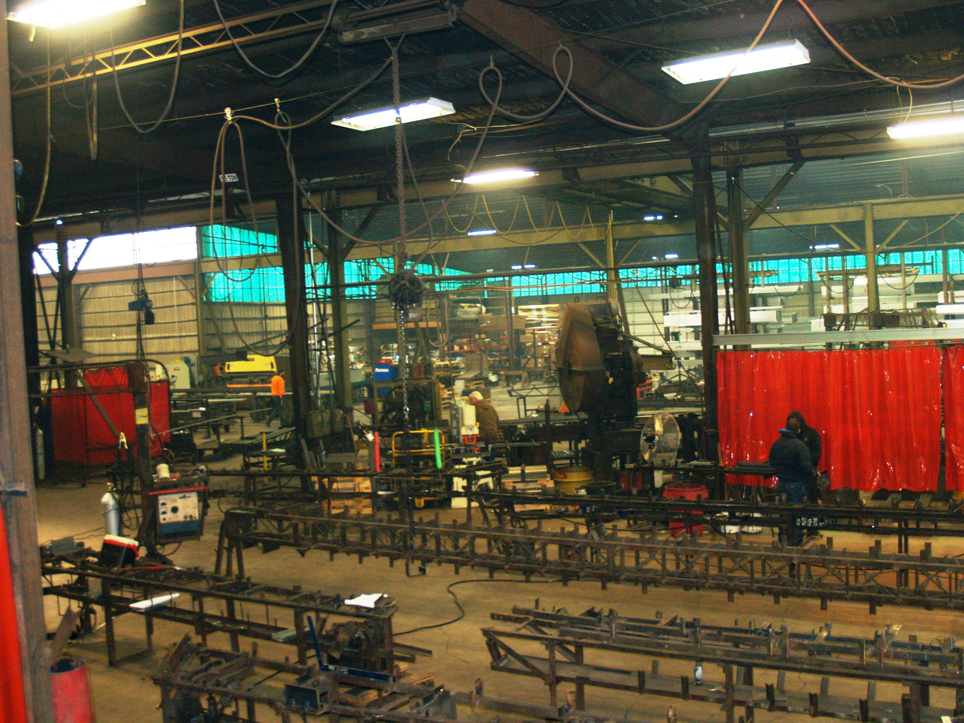 parts to making a steel truss
